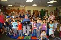 Author visit with Monroe Early Childhood