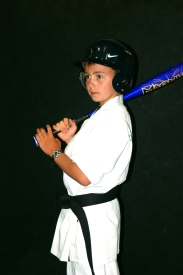 Baseball Nate, we learned, is just as talented as the Karate version!