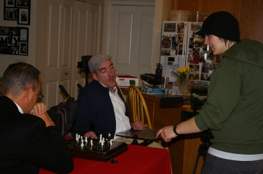 Coordinating the chess scene