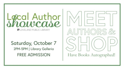 Author Showcase Flyer